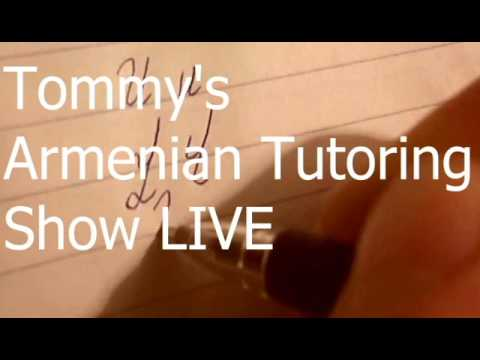 Tommy's Armenian Tutoring LIVE Show Coming Soon !