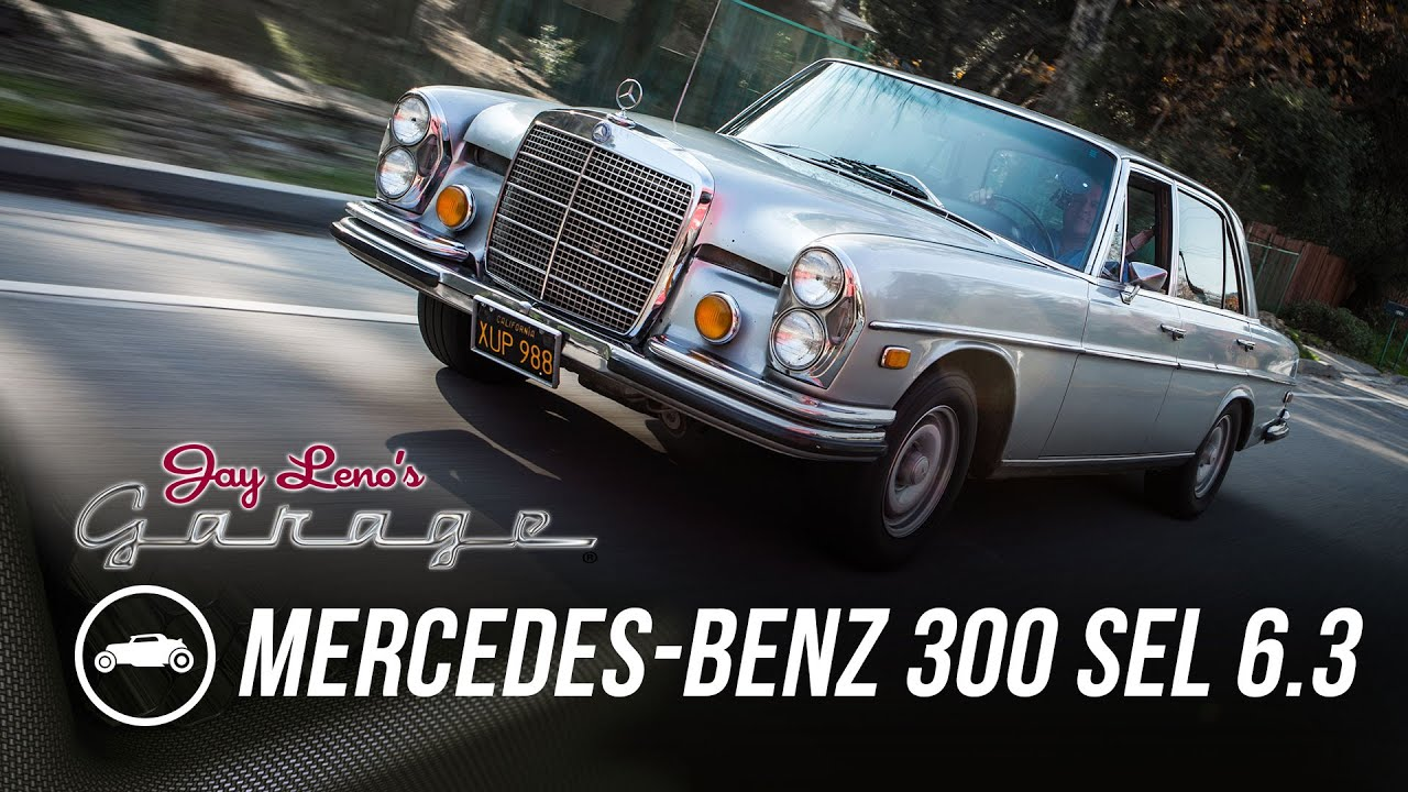 1972 mercedes benz 300 sel 6 3 jay leno 39 s garage youtube for Mercedes benz 6 3