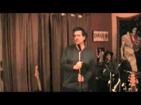 Imagine - Gerry Ferretti singing John Lennon, Elvis style