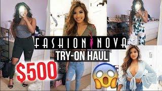 $500 fashion nova haul!! is it legit?? 😱 exposed part 2!