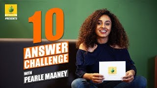 Pearle Maaney | 10 Answer Challenge | Karikku