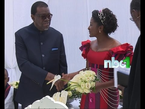 Dr. Geingob's wedding