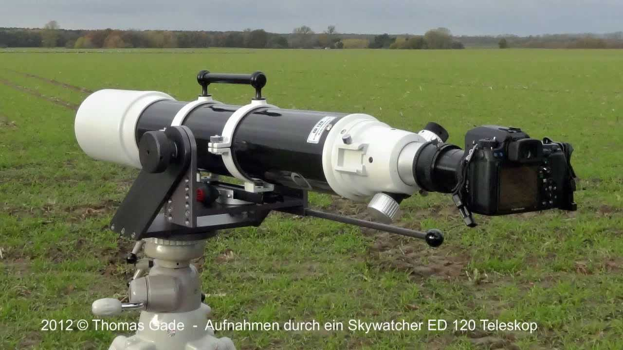 Skywatcher evostar ed 120 apo refraktor youtube