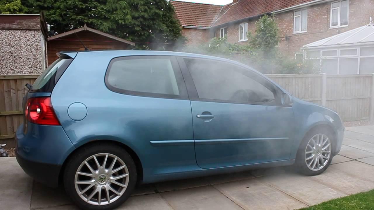 Car Odor Eliminator >> Fog it Smoke Machine - Deodorising car smell - YouTube