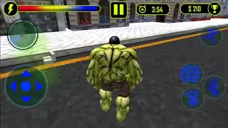 Superhero City Battle Monster Fighting | Level 3 | Hulk Game