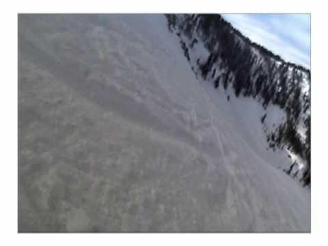 Taos NM - Snowboarding Kachina Peak