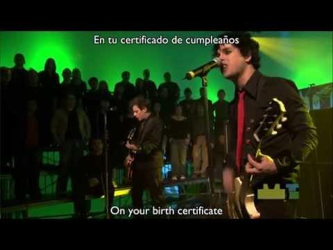 Green Day - Letterbomb (Sub. Español - Ingles)