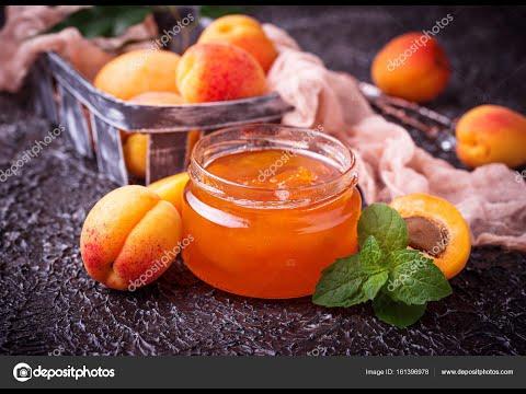 Абрикосовый джем. Самый простой рецепт. БЕЗ СНЯТИЯ КОЖИЦЫ. Apricot Jam.