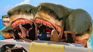 El Tiburón de 5 Cabezas | Peliculas RIDICULAS!