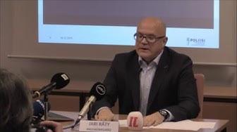 KRP:n tiedotustilaisuus Tampereella