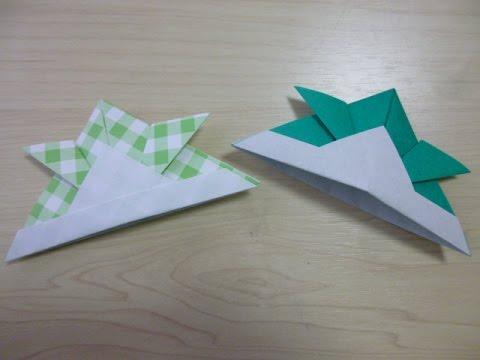 ハート 折り紙:折り紙かぶと上級折り方-popmatx.com