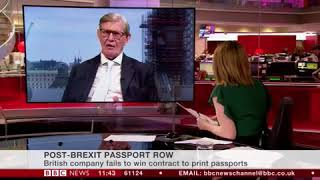 UK passport humiliation: French DEMAND passports are printed in France – UK capitulates