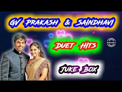 GV Prakash & Saindhavi Duet Hits   Melody   Tamil Songs   Juke Box   Music Box 7