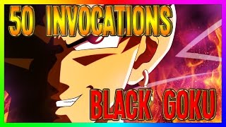 Dokkan Battle | 50 Invocations BLACK GOKU