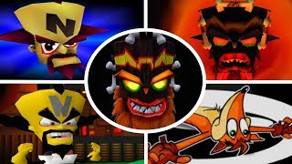 Evolution of Deaths and Game Over Screens in Crash Bandicoot Games (1996-2017)