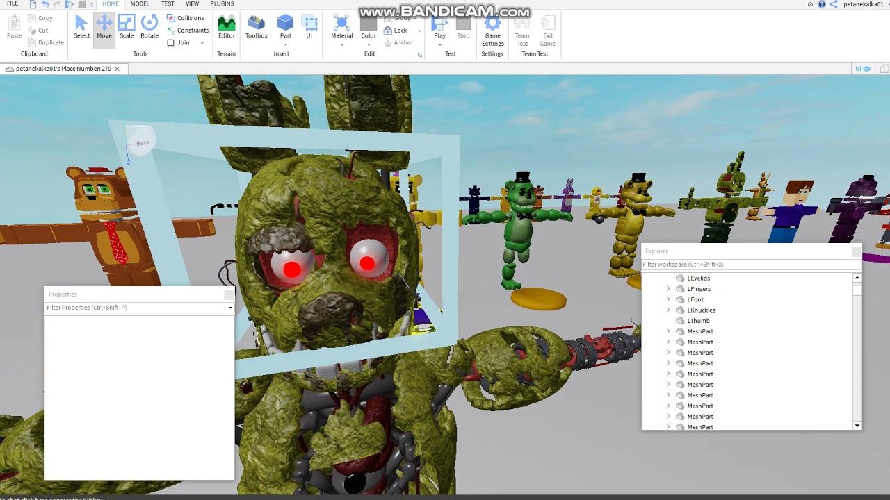 Roblox Studio How To Make Rig Morph Youtube