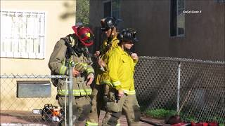 National City: Residential Fire On C Ave. 2/18/2018