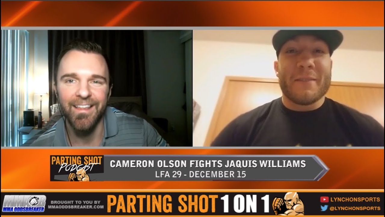 Cameron Olson Talks LFA 29, American Thanksgiving and Contender Series
