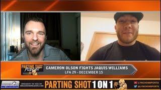 Cameron Olson Talks LFA 29, American Thanksgiving and Contender Series