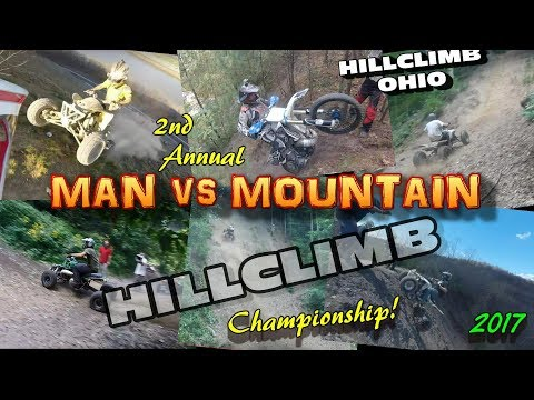 "[HILLCLIMB OHIO] 2nd Annual ""MAN vs MOUNTAIN"" Hillclimb Championship, Wellsville, oh 8-5-17"