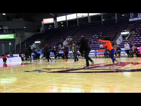 One Voice One Team Flash Mob Halftime