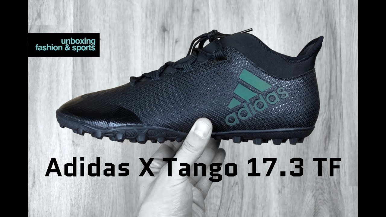 best sneakers 26524 9648d Adidas X Tango 17.3 TF 'Nitecrawler Pack' | UNBOXING & ON FEET | football  boots | 2018 | 4K