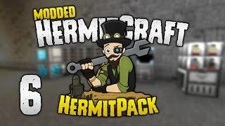 HermitCraft Modded - #6: Exploiting Refined Storage [HermitPack]
