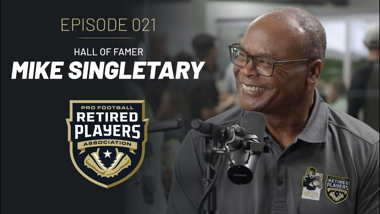 Mike Singletary | PFRPA Podcast #021 | Hall of Famer