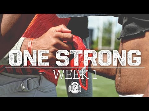 2017 Ohio State Football Fall Camp: Week 1 Highlight