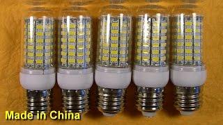 "Светодиодные лампочки ""25W"" 69 LED 5730 SMD E27 220V(, 2015-06-19T07:09:47.000Z)"