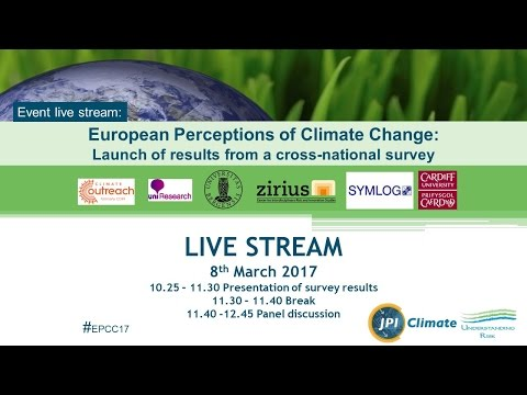 European Perceptions of Climate Change Project Results
