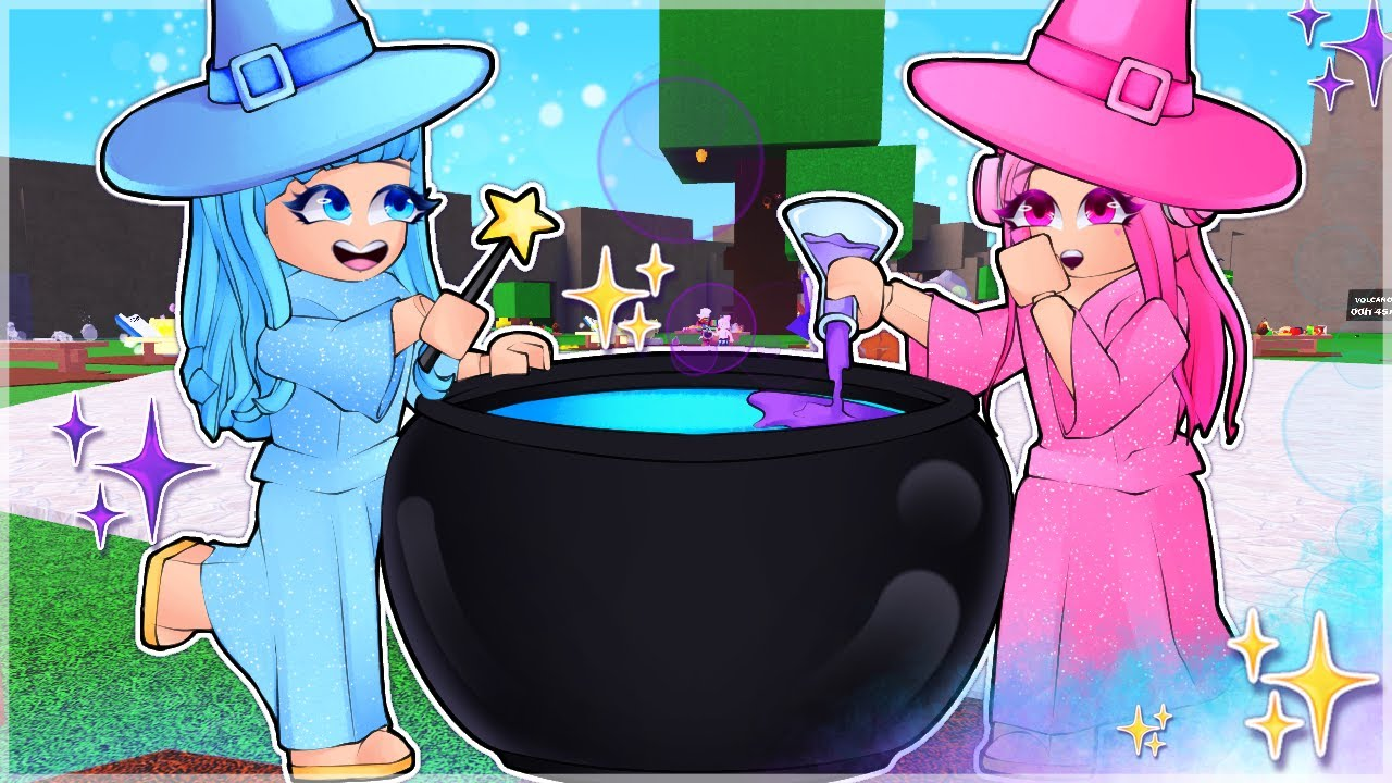 We Became WIZARDS In Roblox...Wacky Wizards