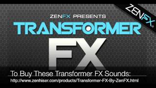 Transformers Sound FX - Zenhiser Samples & Loops