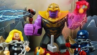 LEGO Thanos Wins Avengers Endgame