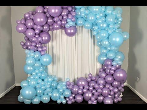 Frozen Balloon Garland DIY | How To