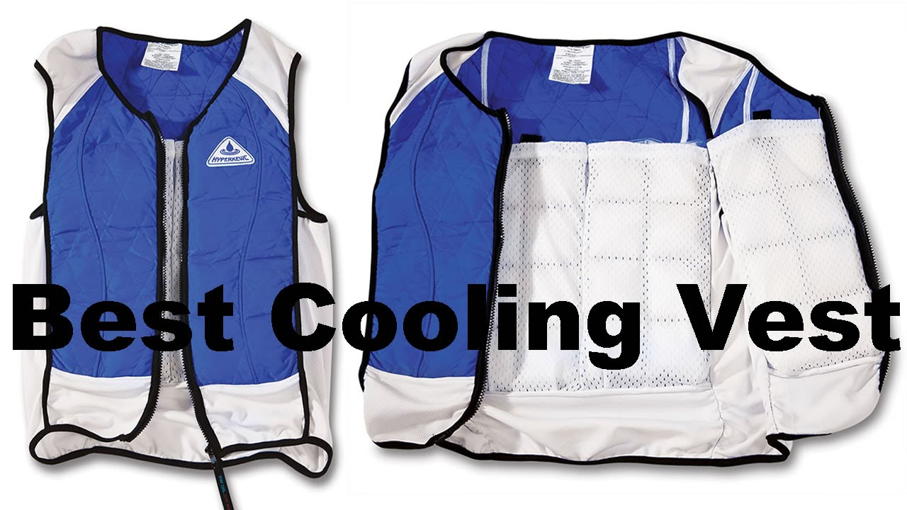 Evaporative Cooling Clothing : Best body cooling vest for adults phase change