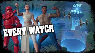 FORTNITE EVENT WATCH - STAR WARS EVENT COUNTDOWN LIVE - RISKY REELS FINAL ( STAGE 5 ) COMING SOON
