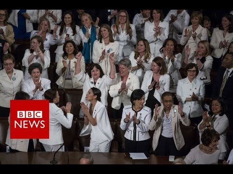 State of the Union: Democratic women cheer in Trump speech - BBC News Mp3