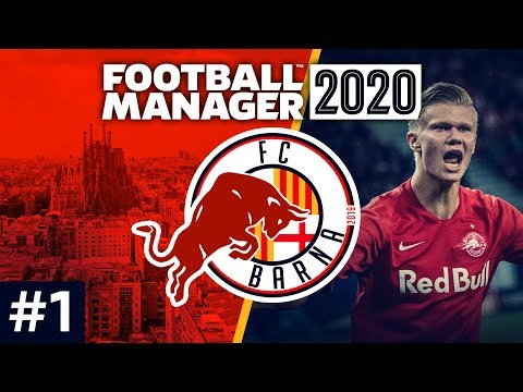 Red Bull Barcelona - Episode 1: RB Barna Is Born | Football Manager 2020 Let's Play #FM20