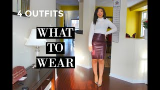 WHAT TO WEAR WHEN YOU HAVE NOT…