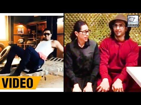 Ranveer Singh & Karisma Kapoor DANCE On Sarkai Lo Khatiya   LehrenTV