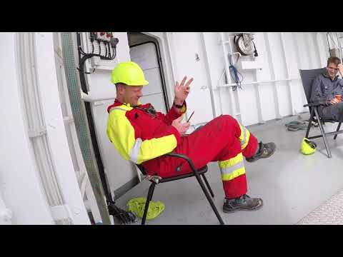 Olympic Taurus,  A day at work as a ship-electrician