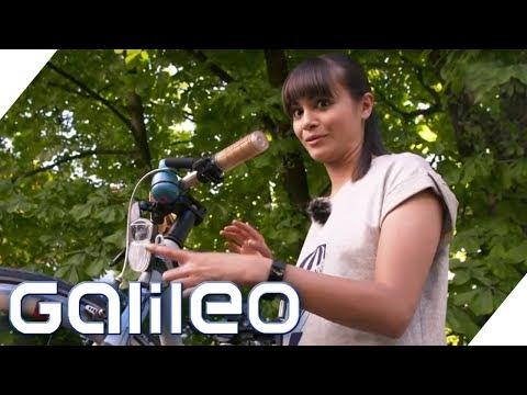 Die neuesten Fahrrad-Gadgets im Test | Galileo | ProSieben