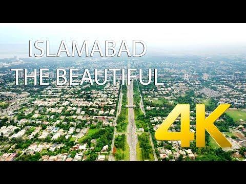 Islamabad The Beautiful - 4K Ultra HD - Karachi Street View