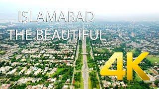 Islamabad The Beautiful - 4K Ultra HD - Karachi Street View Video