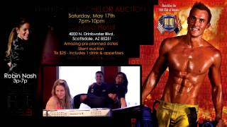 Firefighters Gio & Janet W/ Robin - Firefighter Bachelor Auction