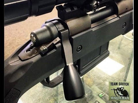 Extended Bolt Handle Mod for Remington 700 Rifles