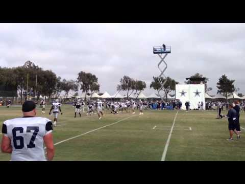 Hurry-Up Offense - Dallas Cowboys Training Camp 2013
