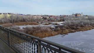 Оренбург урал красота начало зимы