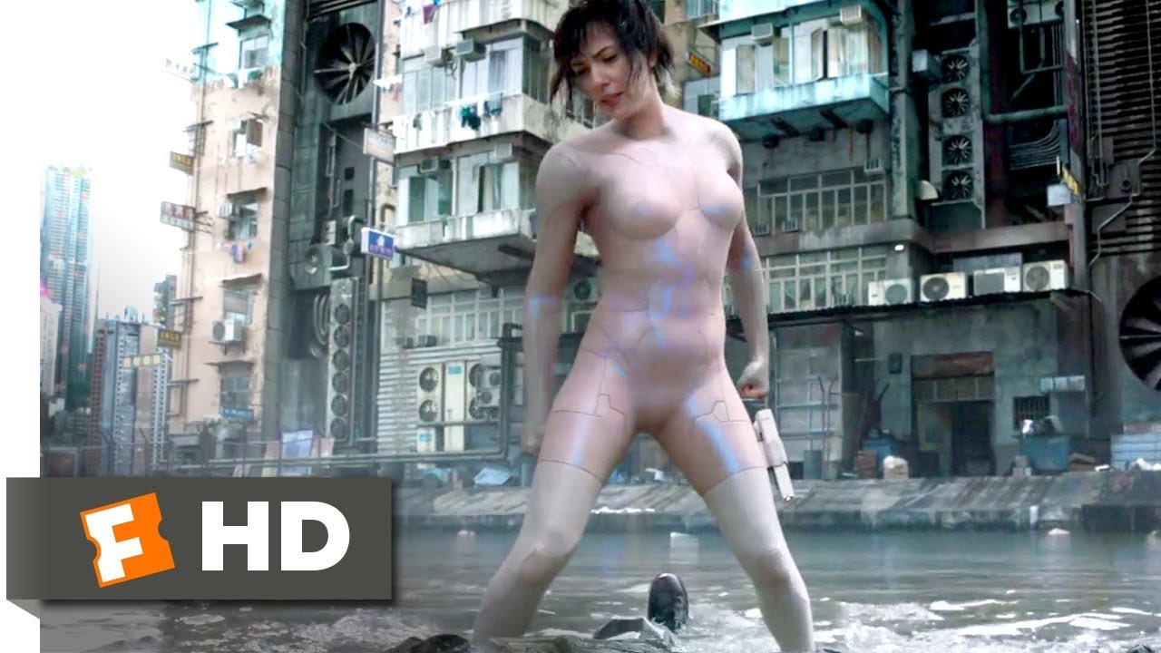 Download Ghost in the Shell (2017) - Invisible Chase Scene (5/10)   Movieclips